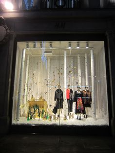 c14d1bd510b8 H M Oxford Circus Christmas Window 2014. I worked at the London based  design   production
