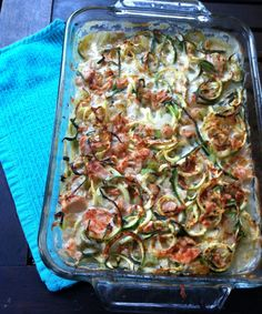 "Per reader request, I ""paleo-ized"" a traditional tuna noodle casserole with zoodles and a dairy free sauce. It came out thick, creamy, and flavorful!   I used Wild Planet brand tuna: &n..."