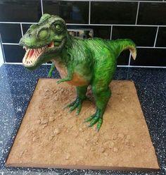 T Rex cake: