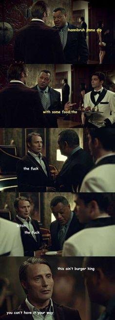 Hannibal humor | Jack and Hannibal