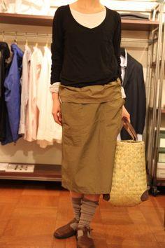 brown bag skirt