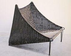 // Mathieu Matégot, Féritin Chair, 1952