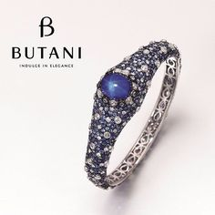The beauty of a rare cabochon-cut star sapphire bangle makes it a cherished collectible for jewellery ...