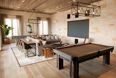 Neutral Earth Tones of the Possum Kingdom Lake House in Texas | Home Design Lover