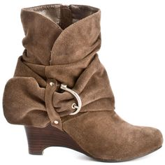 Boots Boots Boots I Love !!! Naughty Monkey    Catch - Taupe