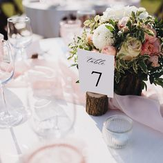 Find table numbers that match your invitations or programs to carry your wedding look into your reception décor! Reception Decorations, Table Decorations, Wedding Table Numbers, Wedding Looks, Invitations, Rustic, Ideas, Design, Home Decor
