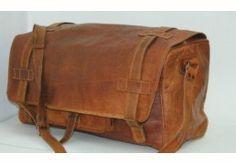 Large Brown Duffel 26' $125 + $25 shipping