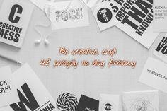 Be creative, czyli 42 pomysły na blog firmowy  #marketing #treści #copywriting