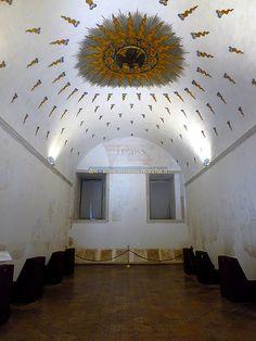 Libray of federico da Montefeltro - Ducal Palace of Urbino - Marche, Italy
