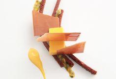 Amor amor: chocolate con leche y fruta de la pasión #cuisine #recipes