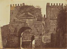 Arch of Drusus, Rome,  1856 - 1859,