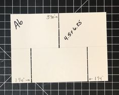 The Impossible Card in multiple sizes. – Maymay Made It