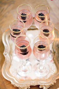 Wedding Food - A gorgeous blueberry, mulberry, and blackberry wedding inspiration shoot. Berry Wedding, Luxe Wedding, Art Deco Wedding, Gold Wedding, Wedding 2015, Trendy Wedding, Spring Wedding, Unique Weddings, Garden Wedding