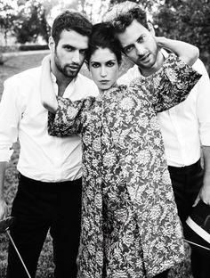 Nerea Barros,Peter Vives y Jesus Castro by Juan Aldabaldetrecu and Pilar Lucas – Makeup and Hair