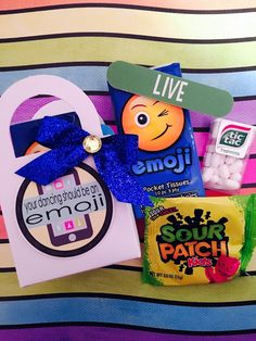"""""""Your dancing should be an emoji!"""" dance team gift, favor or motivator...new blog post from The Lily of the Valley Craft Room!"""