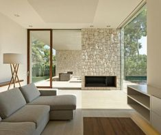 Solidifying a home's connection to nature in Spain: El Bosque House Villa Design, House Design, Garden Design, Home Interior Design, Interior Architecture, Interior Decorating, Conception Villa, Home Connections, Forest House