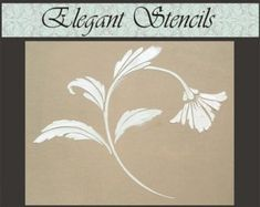 Plaster Stencil Chantilly Floral stencil for walls, Stencil for Furniture Wallpaper Stencil, Stencil Painting, Stenciling, Over The Top, Raw Furniture, Furniture Stencil, Powder Room Lighting, Little Girl Beds, Wall Stencil Designs