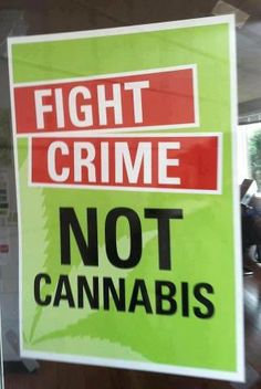 Fight Crime not #Cannabis| SpliffSeeds.NL