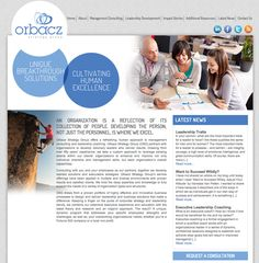 Orbacz Strategy Group #WebDesign by #SageIsland
