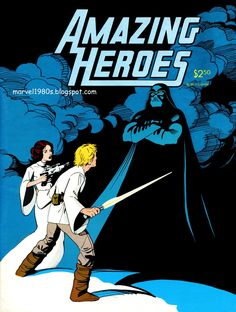 Marvel Comics of the 1980s: 1982 - Amazing Heroes #13 Star Wars cover by Kevin Nowlan