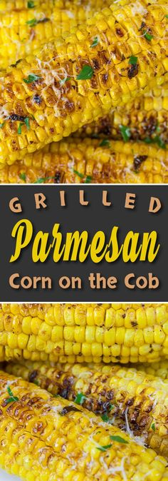 Grilled Parmesan Corn On The Cob - Can't stand the heat? Grill the corn on the cob! Sweet, savory, crunchy, fresh, nutty deliciousness!