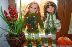 Доброго дня всем любителям кукол Мои куколки нарядились и устроили фотоссесию! Вот у нас и зимушка зима пришла, снегу
