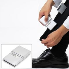 Palm-Sized Portable Iron makes business casual on the go seamless. Would be perfect for our IT recruiters for those final touches before candidate interviews.