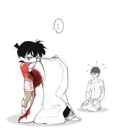 Anime Guys, Manga Anime, Detective Conan Shinichi, Detektif Conan, Kaito Kuroba, Familia Anime, Kaito Kid, Kudo Shinichi, Pusheen Cat