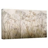 Found it at Wayfair - 'Wildflowers Ivory' Painting Print on Canvas