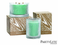 Pot à bougie Nature's Light™ by PartyLite Feuille de cèdre - G41561 www.partylite.fr #zen #partylite