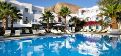 Ideal Resort with tennis court in Santorini. Also enjoy our swimming pools, dining, our gym and more. Santorini Kastelli Resort Hotel