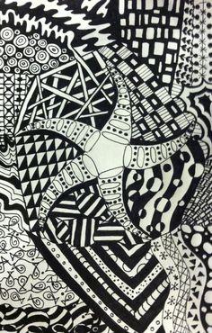 Zentangle #zentangle