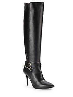 Lamox Tall Leather Boots