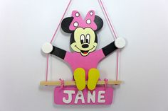 Wooden name sign custom wooden toy  gift for kids by woodenplay