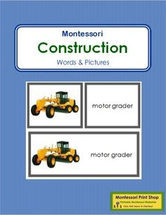 "Construction+Vehicles:+Words+and+Picture+CardsThis+work+includes+photographic+pictures:+excavator,+bulldozer,+dump+truck,+wheel+loader,+motor+grader,+vibratory+roller,+pipelayer,+backhoe,+motor+scraper,+paver,+cherry+picker,+crane,+forklift,+cement+mixer,+trencher,+and+log+skidder.++++-+16+photo+cards++++-+16+word+cards++++-+16+control+cardsBoth+word+and+picture+cards+are+approx.+2""+x+2""."