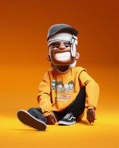Swag Cartoon, Dope Cartoon Art, Anime Rapper, Rapper Art, Arte Do Hip Hop, Hip Hop Art, 2160x3840 Wallpaper, Cartoon Wallpaper, Pop Music Artists