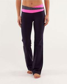 Lululemon Athletica Yoga Astro Pant Black / Classic Stripe Pink Shell,lululemon athletica black friday,lululemon black friday warehouse