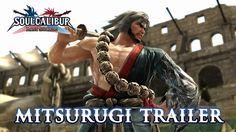 "SoulCalibur Lost Swords - PS3 - Mitsurugi Trailer ""He who lives for battle"""