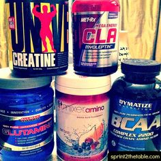 5 supplements I take to get the most out of my training. #figurecompetitior #bodybuilding #fitness