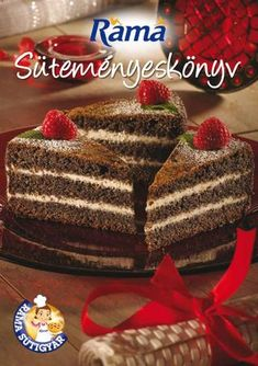 """Cover of """"Ráma süteményeskönyv"""" Make It Simple, Good Food, Food And Drink, Cake, Party Recipes, Advent, Books, Recipes, Libros"""