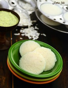 Poha Idli, poha adds a magical touch to idlis, making it very soft and fluffy.