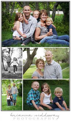Family Session» Brianna Siddoway Photography Family Photography, Family of 5, Grey and Blue, cute family photos
