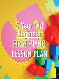 Plan a fantastic lesson for your new 5 year old student and make sure they leave smiling! http://colourfulkeys.ie/plan-the-ultimate-first-piano-lesson-for-a-five-year-old-beginner/