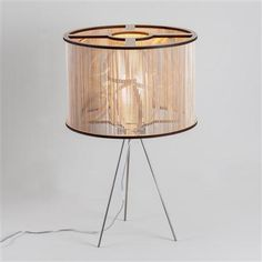 ACHICA | Tom Raffield Cage Light and Table stand