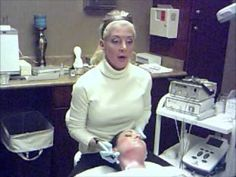 Dermapen Demo from Stacey Kelly-Berman of Synergy Aesthetics and Wellness in Parker, CO.