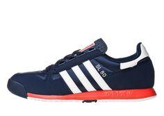 buy popular 38d64 d360d Adidas Originals SL 80 navywhitered Running Sneakers, Adidas Sneakers, Jd