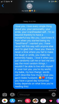 just a little paragraph i wrote to mì armor🥰❤️ Sweet Messages For Boyfriend, Cute Boyfriend Texts, Love Letter For Boyfriend, Cute Text Messages, Happy Birthday Love Quotes, Birthday Quotes For Best Friend, Birthday Wishes Quotes, Relationship Paragraphs, Cute Relationship Texts