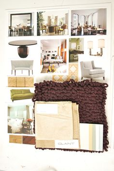 Here are some design boards for I did for a client. I love making these.