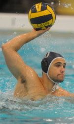 Milos Purkovic also comes from Belgrade, Serbia to compete for Colonial's Water Polo.
