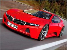 A mean look like this is acceptable! #red #bmw #fastcar